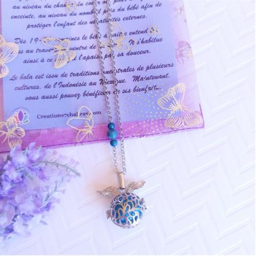 Bola Ange bleu