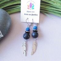 Earrings Bleu nuit
