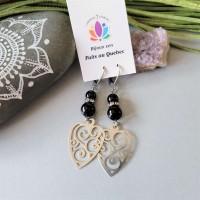 Earrings Grand coeur