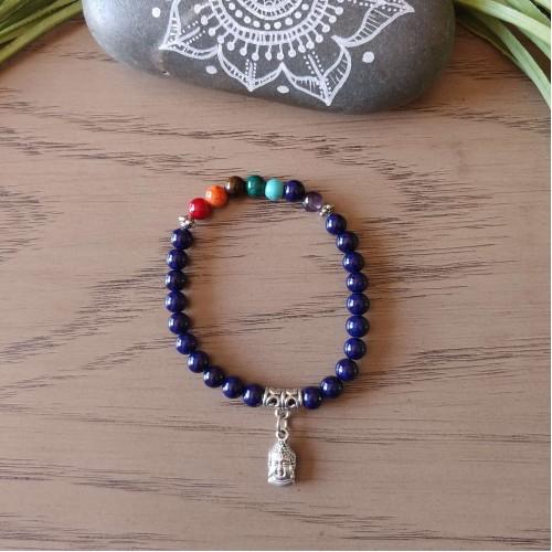 Bracelet Bonheur bleu