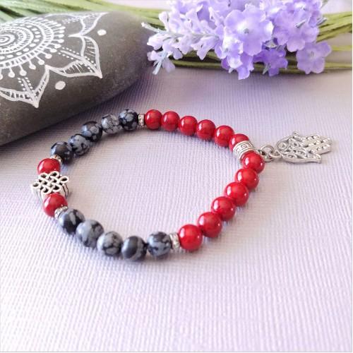 Bracelet Infiniment rouge