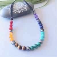 Necklace 7 chakras Bouddha