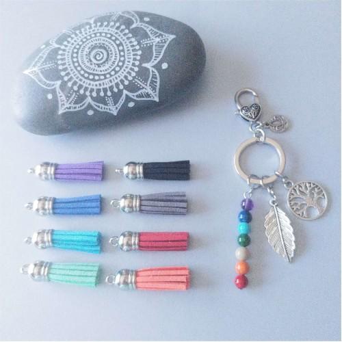 Porte-clés 7 chakras