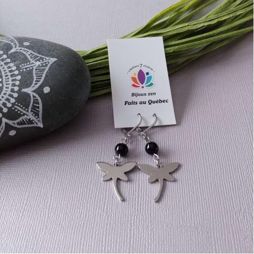 Boucles d'oreilles Dragonfly