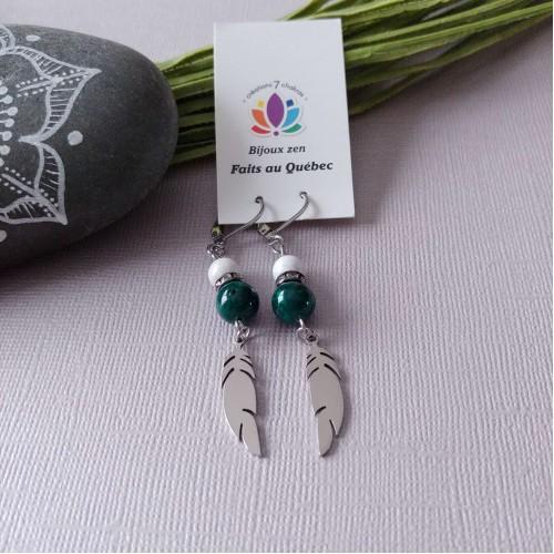 Boucles d'oreilles Nature
